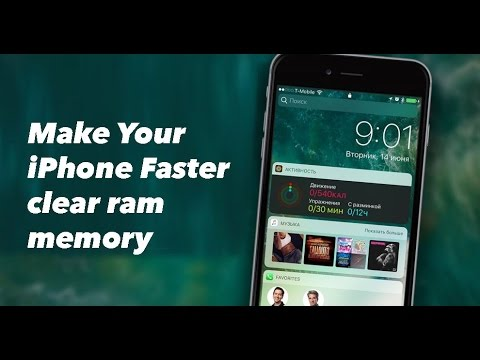 Make Your iPhone Faster clear ram memory