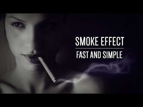Fast & Simple Smoke Effect Photoshop Tutorial