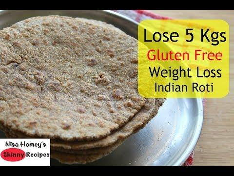 Lose 5 Kgs With Gluten Free Indian Roti/Chapati - Multigrain Roti/Flatbread Recipe For Weight Loss