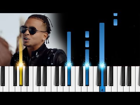 Ozuna - BAILA BAILA BAILA - Easy Piano Tutorial
