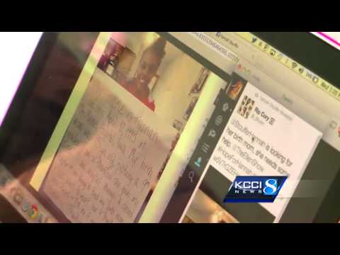 Woman finds birth mother through social media