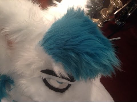 How To Make Fursuit Hair Tutorial