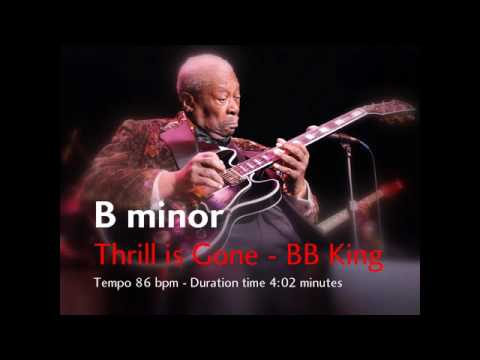 Thrill is Gone (BB King) | Backing Track