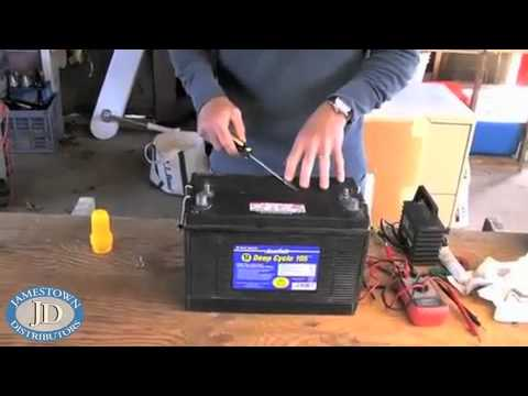 Spring Boat Battery Maintenance