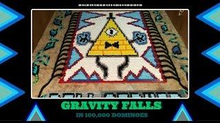 Gravity Falls - In Dominoes (100,000 Dominoes!)