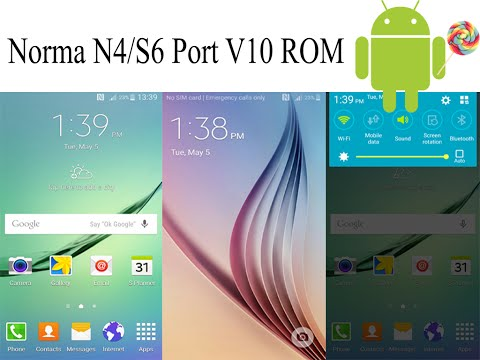 How to Install Norma N4/S6 Port V10 ROM on Galaxy S4 I9500 | Android 5.0.1