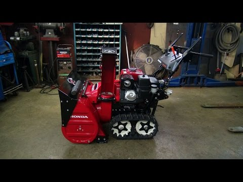 Honda Snowblower Update And Some Other Stuff
