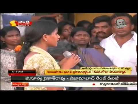 Farmers pushed into debt trap, says YS Sharmila
