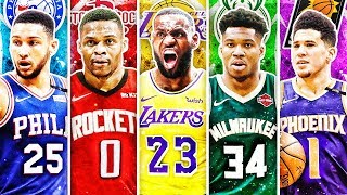 BEST NBA PLAYER FROM EVERY TEAM