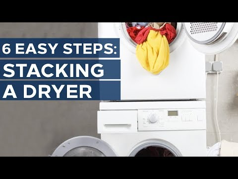 How to Stack Your Washer and Dryer - Get appliance insights on brands like Samsung and LG - Youtube
