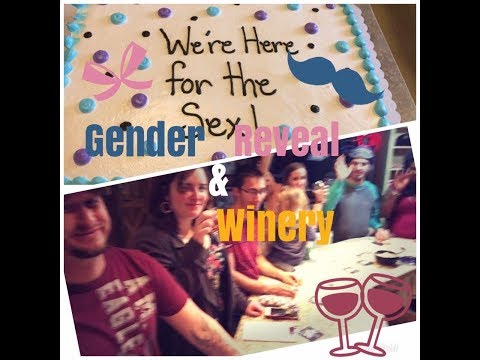 Gender Reveal Party | Winery with friends Vlog | OOTD