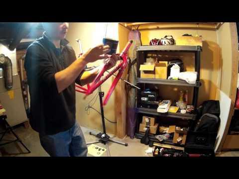 Vintage bike build part 2 - threaded headset/fork overhaul