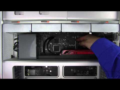 Mac Pro (Mid 2010) PCIe Card Installation Video