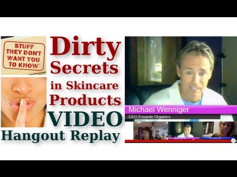 Dirty Secrets In Skincare Products - Go Green Hangout