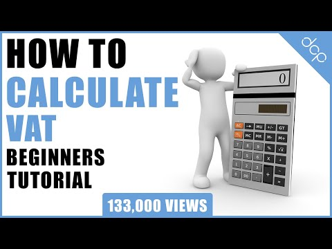 How to calculate VAT - Simple Method VAT Calculation