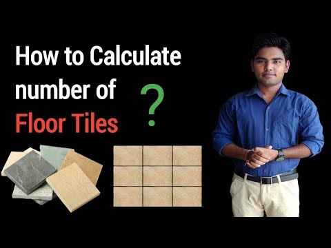 How to Calculate Floor Tiles ? (Quantity & Estimation)