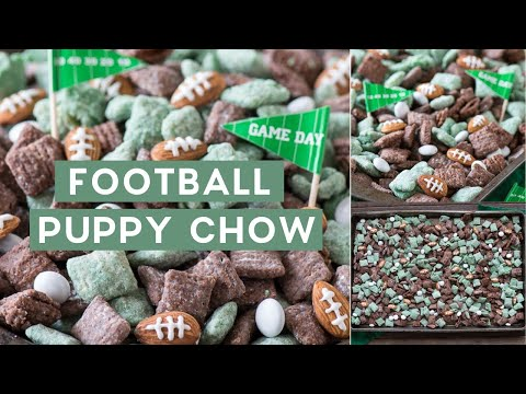 Football Puppy Chow