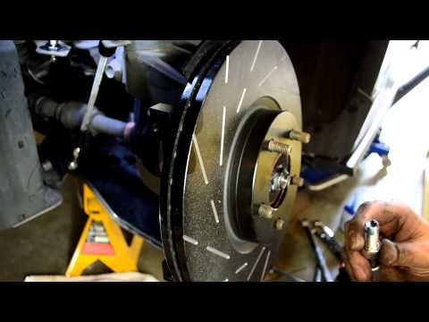 CorkSport Mazda 3 / Mazdaspeed 3 Big Brake Caliper Kit Install Video