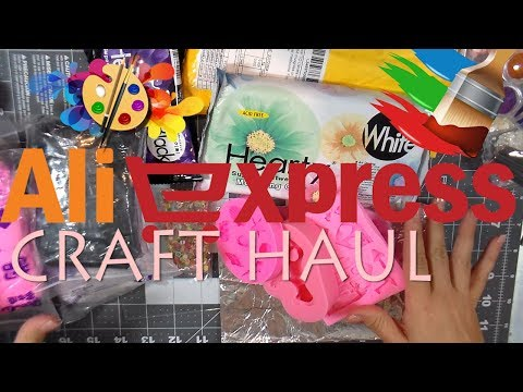 ALIEXPRESS CRAFT HAUL BY Cup n Cakes Gourmet