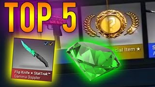 CS:GO - Top 5 Most Expensive Gamma Knife Unboxing Videos!