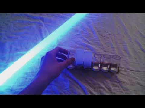 Easy Lightsaber Blade Plug Storage with Scrabble Tile Holder DIY