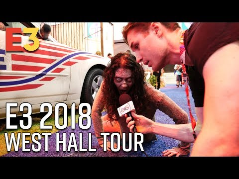 E3 2018 West Hall Tour - Sony, Nintendo, and The Walking Dead