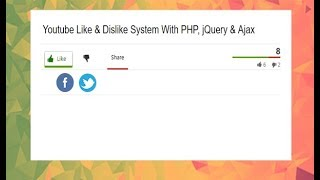Like Dislike Rating System with jQuery, Ajax and PHP