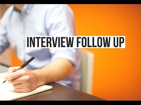 How to Follow Up by Phone After an Interview