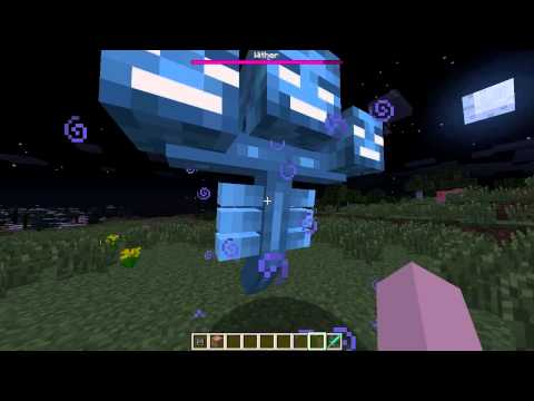 Minecraft 1.4.7 - How to summon the Wither! (NEW BOSS)