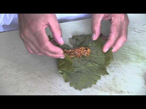 How to make Vegetarian Stuffed Vine Leaves
