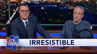 Jon Stewart Climbs Out From Under Colbert
