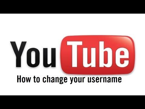 How to change your YouTube username 2013