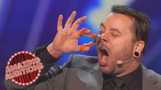 Americas Got Talent 2016 Most Dangerous Acts Of The Year Part 3