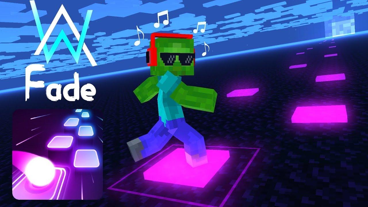 Monster School : Tiles Hop EDM Rush! - Minecraft Animation