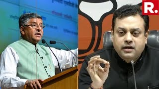 Ravi Shankar Prasad & Sambit Patra React To Chidambaram's Communal Remark Over Kashmir