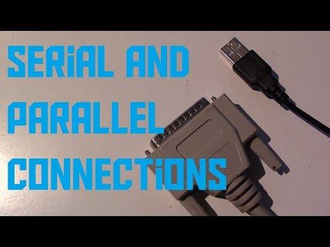 Parallel vs serial computer cables (AKIO TV)