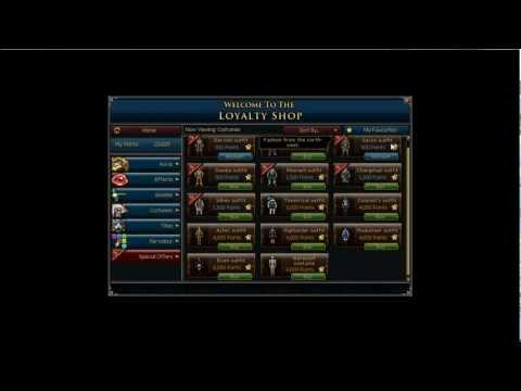 Runescape Maximuma Loyalty Points Batch 4