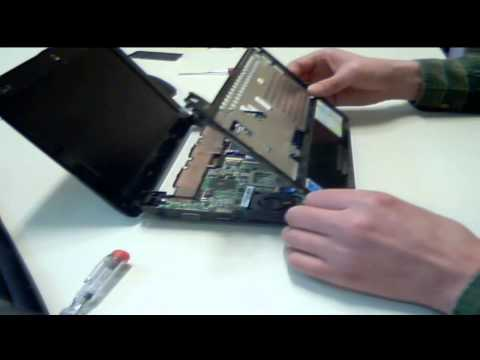 Asus EeePC - How to replace HDD, RAM and Keyboard.