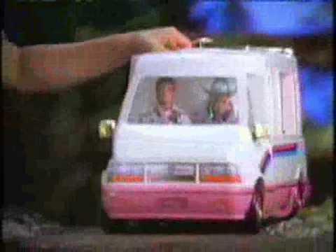 1993 Barbie Golden Dream Motor Home Commercial