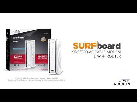 ARRIS SURFboard SBG6900-AC Wi-Fi Cable Modem