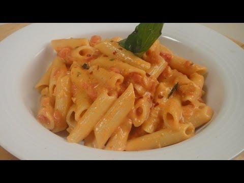 Pasta in Creamy Tomato Sauce | Chef Jaaie | Sanjeev Kapoor Khazana