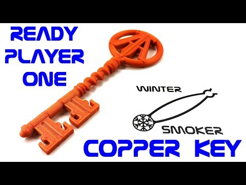 Ready Player One - Copper Key in Fusion 360