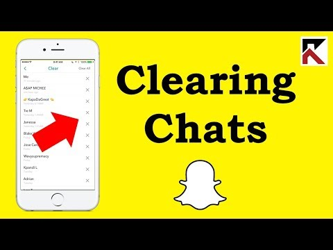How To Clear Conversations Snapchat