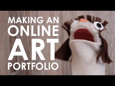 How To Make A Portfolio - YOU NEED A WEBSITE (WITH SOCK KASEY!)