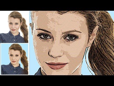 Comic Book Cartoon Effect: Photoshop Tutorial (Easy)