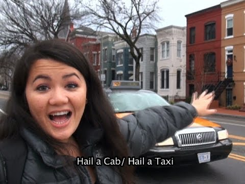 Taxi - Learn English and Burmese with Kaye Mon