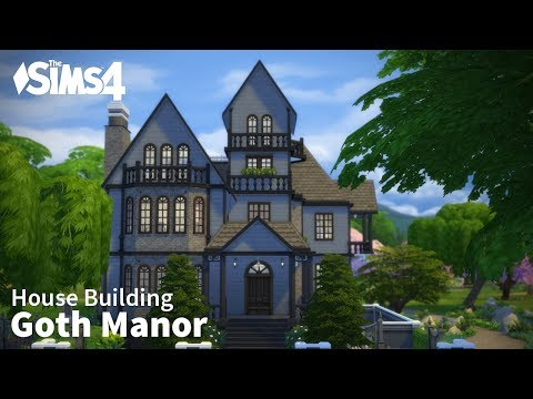 Goth Manor | The Sims 4 House Building