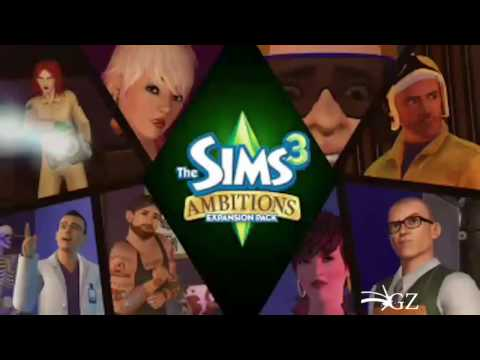 The Sims 3 - Ambitions Expansion Pack Trailer