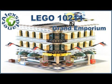 Lego Shop. 10211 Grand Emporium Build Review.