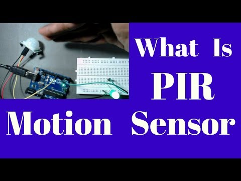 what is PIR motion sensor /detector | Passive infrared motion sensor basic